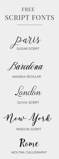 Free Script Fonts | #fonts #design #graphicdesign Available at FontBundles.net
