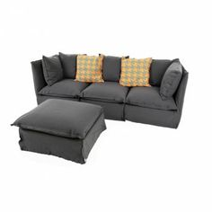 Ghost Sofa + Ottoman Design by Paola Navone