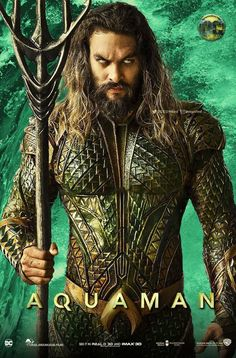 Aquaman Arthur Curry (Jason Momoa), the human-born heir to the underwater kingdom of Atlantis, goes on a quest to prevent a war between the wo… Aquaman Comics, Aquaman Film, Aquaman 2018, Marvel Comics, Arte Dc Comics, Marvel Vs, Jason Momoa Aquaman, Aquaman Wallpaper, Superman