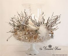 The Decorated House Christmas 2011 Crown Nest 2 Centerpiece (700x573, 245Kb)