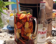 How to Make a Party-Perfect Pimm's Cup