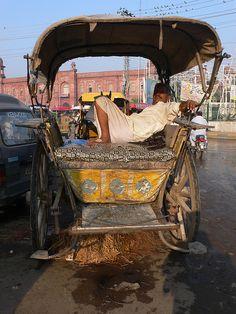 taxy cart, Lahore, Pakistan