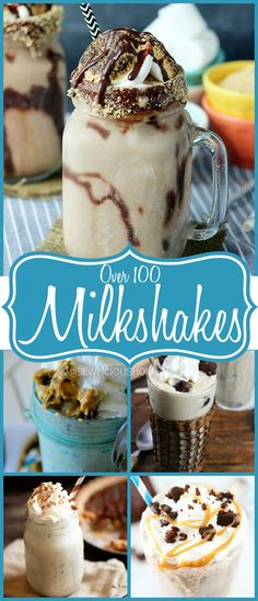 100 ICE CREAM MILKSHAKES Summertime is here and that means the hot sun, hot weather, swimming pools and yep………milkshakes!! There's no other better way to cool off then with a delicious, creamy ice cream milkshake. So I found many delicious milkshake recipes and want to share them all with you. I hope you enjoy them! To … … Continue reading →