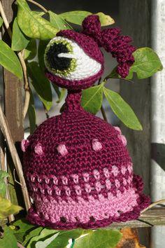 Crochet Hats, Etsy Shop, Halloween, Amigurumi, Little Monsters, Craft Gifts, Threading, Handmade, Handarbeit