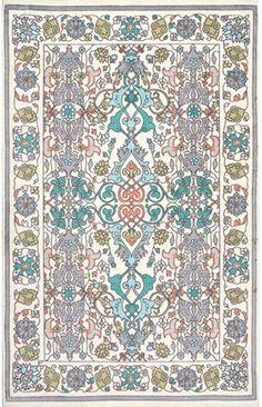 Flourish Printed BZ05 Vibrant Adileh Rug 9x12, $261