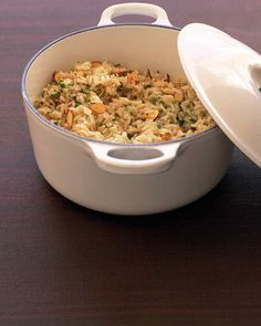 Simple last-minute touches like toasted nuts will liven up your side dishes.