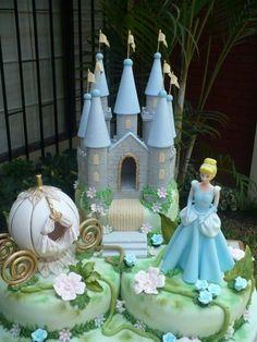 Triple torta de cenicienta