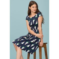 Emily and Fin Claudia Dress Cruising British Size XS - Talis Australia Online Retail Beautiful Dresses, Short Sleeve Dresses, Stylish, Womens Fashion, Skirts, Boats, Shopping, British, Clothes