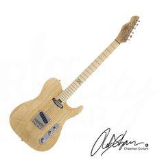 Chapman ML-3 Traditional Guitar - Natural Swamp Ash with Gig Bag