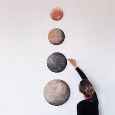 moons of jupiter  |  stella maria baer