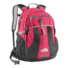 The North Face Women's Recon Teaberry Pink Heather - The North Face Laptop Backpacks.             Top-rated, women-specific daypacks provides 29-liter volume to efficiently hold all your gear and keep you organized. Available in a variety of colors, this nylon pack is lightweight and durable for everyday use. Pack features one large main zip pocket with a laptop sleeve...