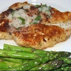 Parmesan Crusted Chicken on BigOven: This is my favorite recipe.  I LOVE the sauce