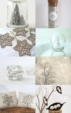 White Christmas by melissa Jackson on Etsy--Pinned with TreasuryPin.com