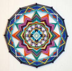 Colorful Life, a 24 inch Ojo de Dios, by custom order