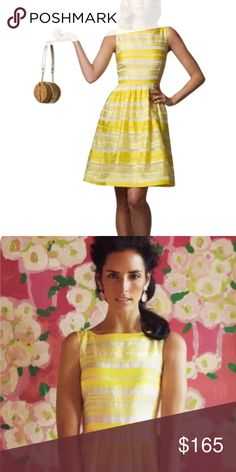 """LILLY PULITZER  yellow """"Eryn"""" dress 4 NWT, more actual photos and measurements coming soon Lilly Pulitzer Dresses Midi"""