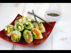 Rollitos vietnamitas con salsa asiática - YouTube