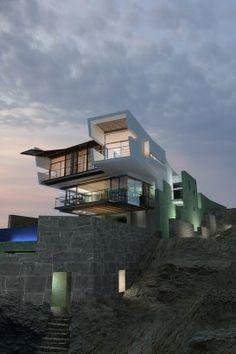 Lefevre Beach House - Punta Misterio, Peru - Talk about location.