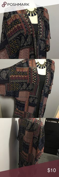 Fresh cardigan Works as a cover up too. It's light weight and I loved this item but I have to clear out everything. Needs a. Ew owner. Selling everything in my closet so feel free to ask for anything. I might have it but it's not listed. Conditions are very good with this item. ⭐️ bundle for discount and I can Sweaters Cardigans
