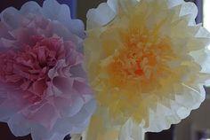 Coffee Filter Flowers {Tutorial}