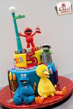 Sesame Street Cake | Craftsy