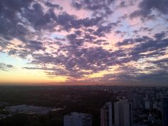Colorful sky, Buenos Aires