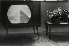 Bernard Plossu    Pyramide télévisée    1974