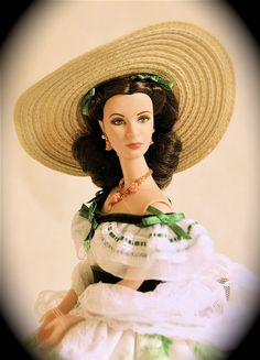 Gone with the wind barbie...barbie dressed up as one of my personal fav characters