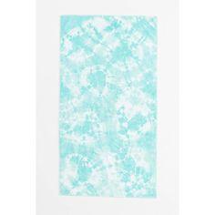 Shabd Tie-Dye Beach Towel ($80) ❤ liked on Polyvore featuring home, bed & bath, bath, beach towels, tie dye beach towel and shabd