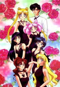 Toei Animation, Minako Aino, Chibiusa, Makoto Kino, Mamoru Chiba, Ami Mizuno, Rei Hino, Usagi Tsukino
