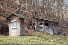 My grandparents had an outhouse when I was a kid.  Did I mention I was from Kentucky.  It's a tough gig in the middle of the night :-)