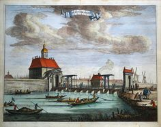 DE MUYDER POORT by Caspar Commelin Published by Wolfgang Waasberge Boom Van Someren en Goethall Amsterdam 1693 in…