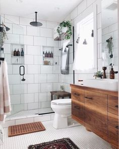Bathroom Inspiration : Apartment Therapy - we bring you bright ideas for how to design your living room, bedroom, bathroom and every other room in your house.