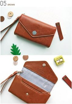 Poste Smartphone Wallet  Exactly what I need! Perfect fit for phone, keys, couple cards...just the basics! Plus a slit the plug in charger without taking phone out•••genius!!