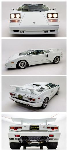 Rare 25th Anniversary Edition Countach Fuel Injected #AutoAwesome want more?…
