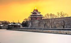 Sunrise at old palace by Haiwei Hu on 500px