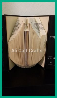Millennium falcon Star Wars  Book Folding Pattern by alicattcrafts