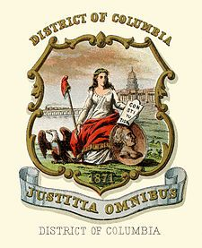 District of Columbia Seal | District of Columbia coat of arms (illustrated, 1876).jpg