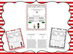 George Washington and Abraham Lincoln Comparison Activity - pinned by @PediaStaff – Please Visit ht.ly/63sNtfor all our pediatric therapy pins