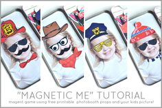 {ROUND UP} free printable photobooth props - Creative Juice