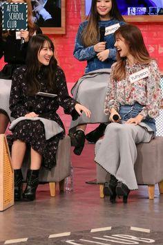 Siyeon and yoohyeon // siyoo