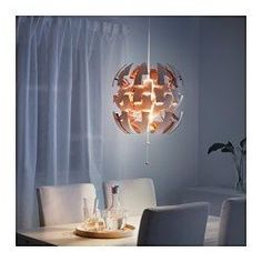 IKEA PS 2014 Pendant lamp, white, copper color - - - IKEA