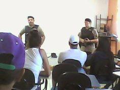 PORTAL DE ITACARAMBI: Policiais Militares de Itacarambi realizam palestr...