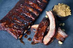 Check out this delicious recipe for PB and J Ribs from Weber—the world's number one authority in grilling. Weber Bbq Recipes, Lamb Recipes, Grilling Recipes, Charcoal Recipe, Most Delicious Recipe, Pork Ribs, Good Ol, Seafood, Veggies