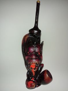 Wicked looking demon pipes, this is not your grandpas pipe - $24.95