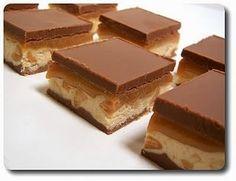 Snickers Fudge Recipe ~ GOODIY