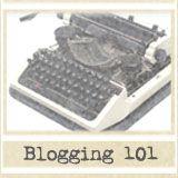 Blogging: 101