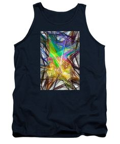 Tank Top - Abstract 9618