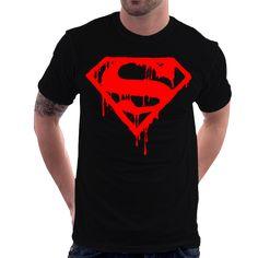 Camiseta A Morte Do Superman Quadrinhos 7d24c697062