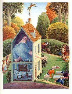 Alice's Adventures in Wonderland/ Lewis Carroll/ Gollancz, Illustrator: Justin Todd