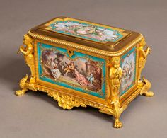 - A Very Fine French Casket in the Louis XVIth Manner